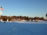Snow Covered Fairway